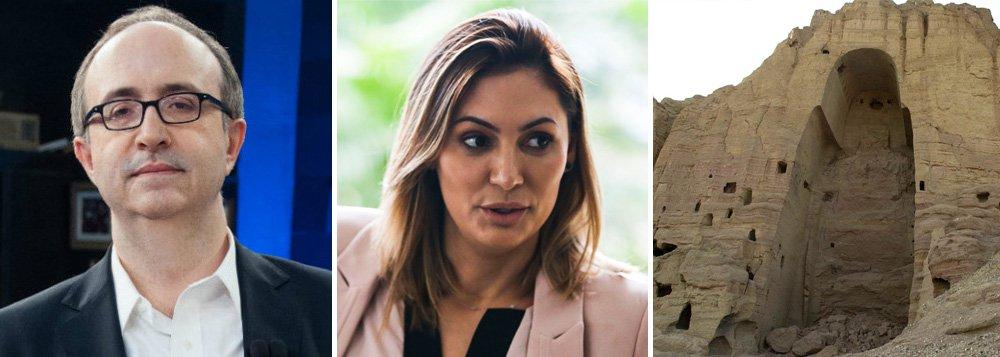 Reinaldo compara mulher de Bolsonaro ao talibã