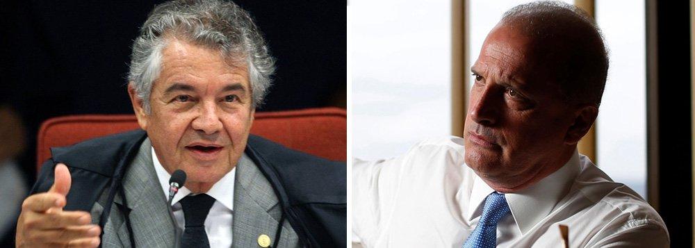Marco Aurélio será relator da apuração do caixa 2 de Onyx Lorenzoni