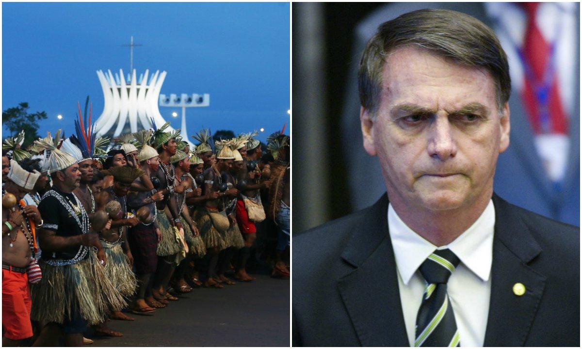 'É a área mais rica do mundo', diz Bolsonaro sobre reserva indígena