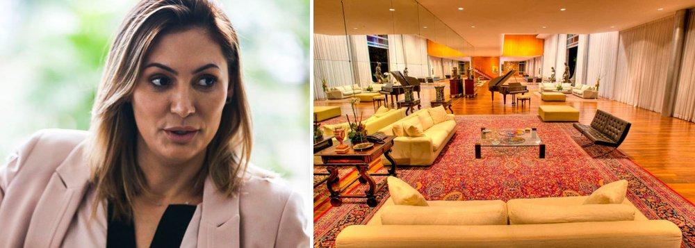Michelle Bolsonaro exige que obras sacras saiam do Palácio da Alvorada