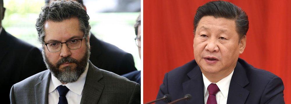 Sondagem 247: para 92%, futuro chanceler erra ao atacar a China