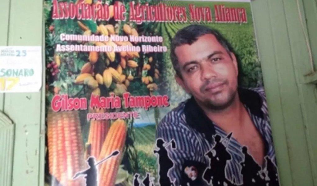 Líder de assentamentos é morto a tiros no Pará