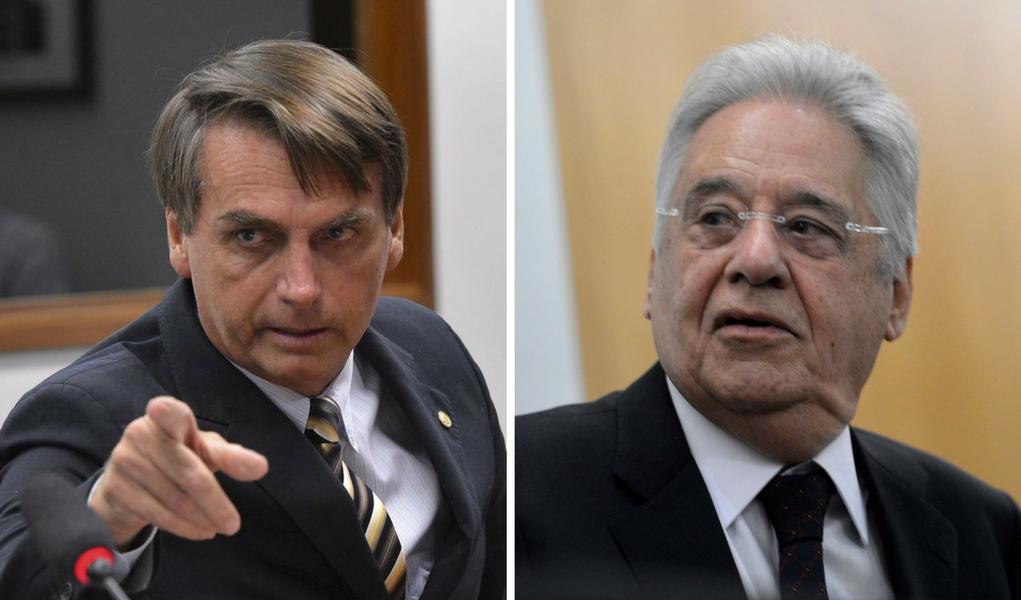 FHC diz que é cedo para jogar pedras em Bolsonaro; eu acho que é tarde demais