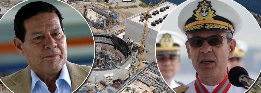 Mourão reitera: usina de Angra 3 será concluída