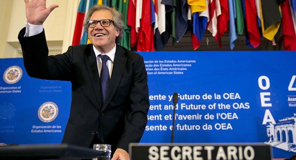 Frente Ampla do Uruguai expulsa de suas fileiras o secretário geral da OEA