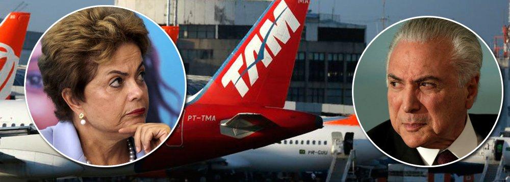 Golpe tirou pobres dos aviões e fez demanda aérea recuar dez anos