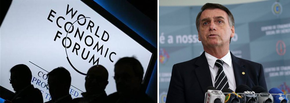 Bolsonaro deve anunciar em Davos revisão do Mercosul
