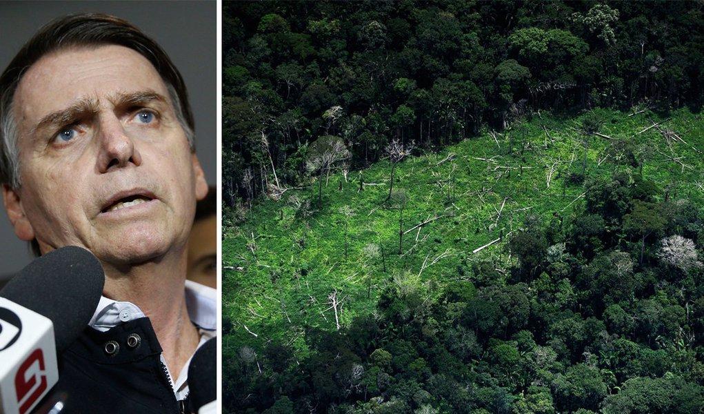 Bolsonaro tenta justificar recusa do Brasil em sediar conferência do clima