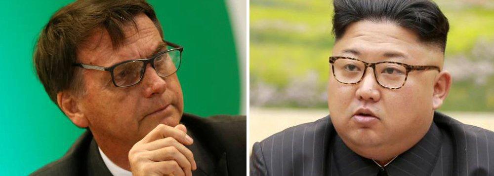Itamaraty convida Coreia do Norte para posse de Bolsonaro