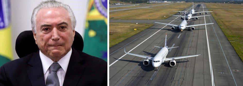 Canetada de Temer para abrir aéreas a estrangeiros provoca desconfianças