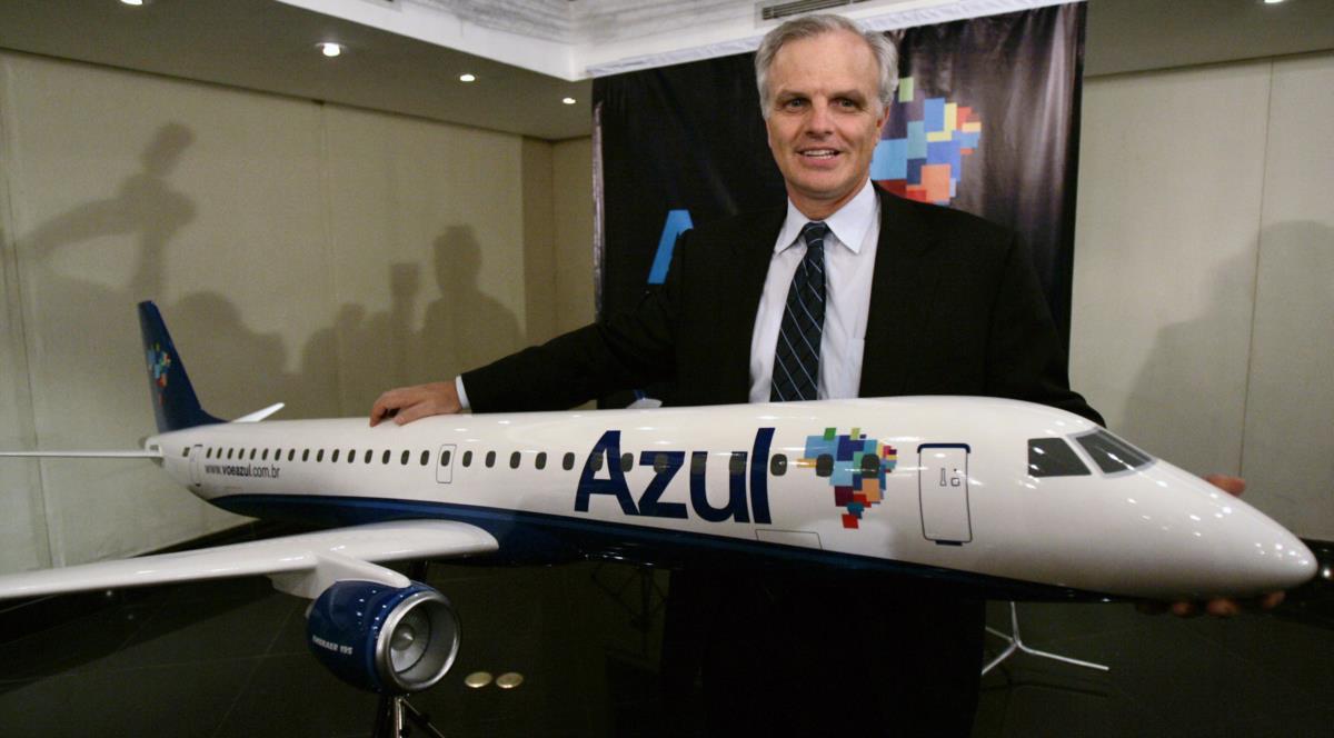 Fundador da Azul defende limite de capital estrangeiro em aéreas