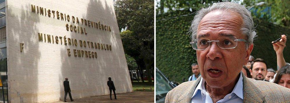 Após extinção, Ministério do Trabalho ficará sob a guarda de Paulo Guedes