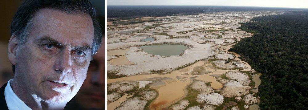 Política indigenista de Bolsonaro favorecerá mineradoras e aumentará desmatamento