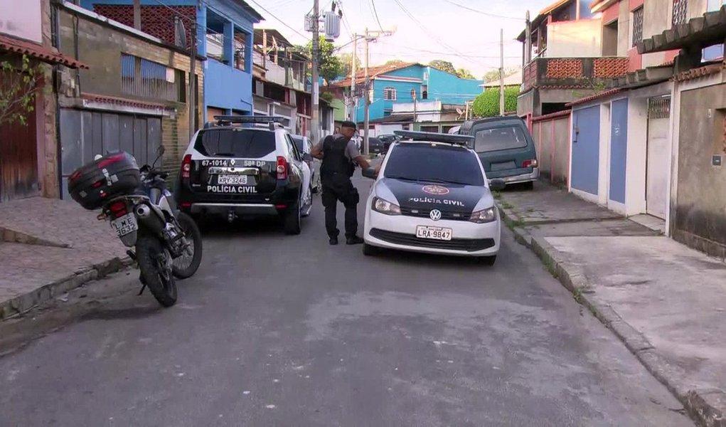 Polícia e Exército realizam no Rio operação contra milícia
