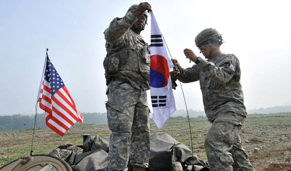 Coreia do Sul e EUA avaliam processo de desnuclearização