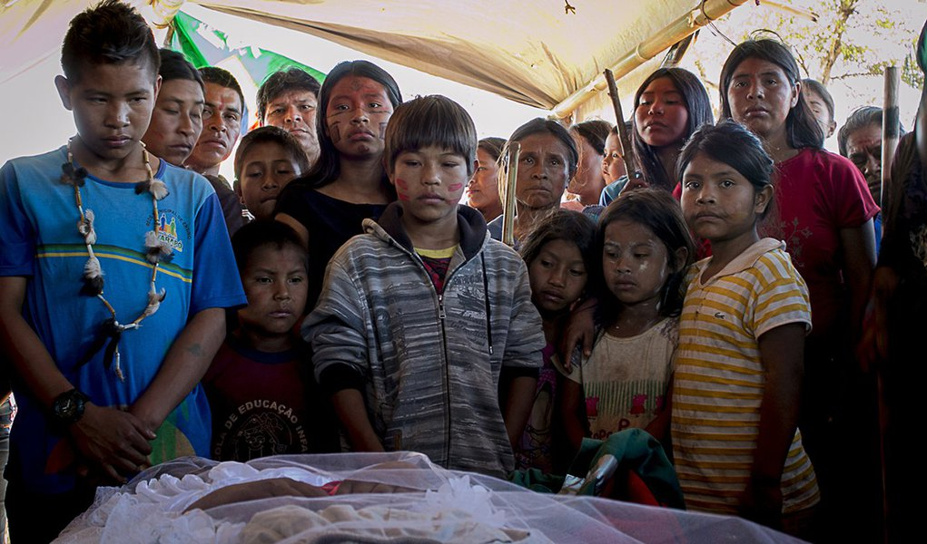 Pai de Guarani Kaiowá assassinado no massacre de Caarapó é preso