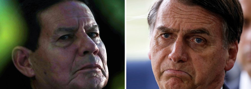 Mourão diz que Bolsonaro deveria ter falado antes sobre Fabrício Queiroz
