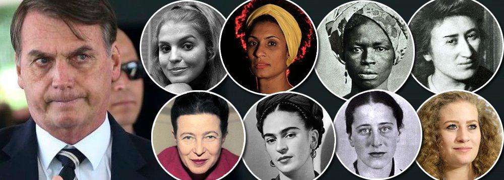 No Brasil distópico e medieval de Bolsonaro, há muito pouco para as mulheres celebrarem