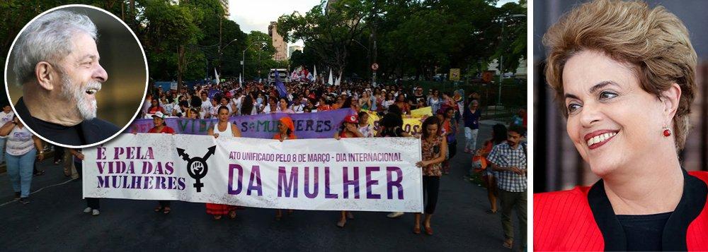 Dilma: Lula era um presidente feminista