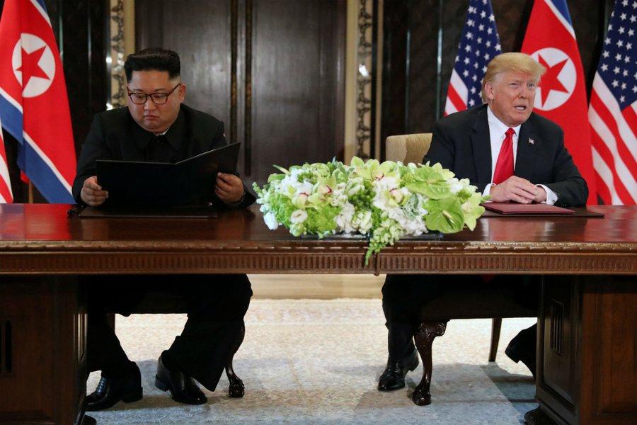 Trump Kim Jong Un se reunirão novamente no final de fevereiro