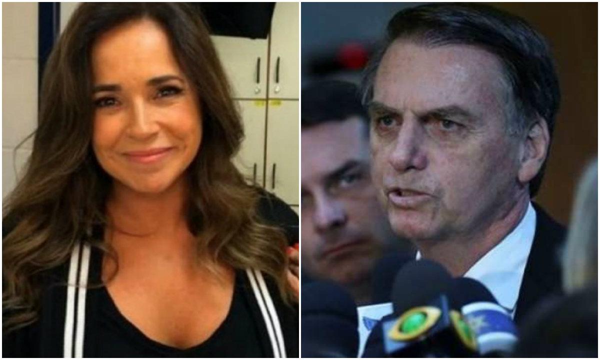 Daniela Mercury responde Bolsonaro: posso ir até Brasília te explicar como funciona a Lei Rouanet