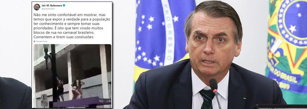 Bolsonaro: nota dez no quesito baixaria