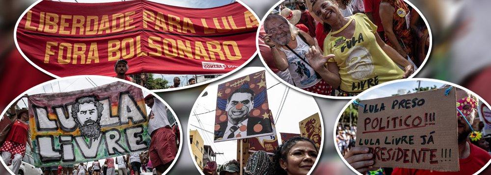Carnaval 2019: Lula Livre x Ele Não!