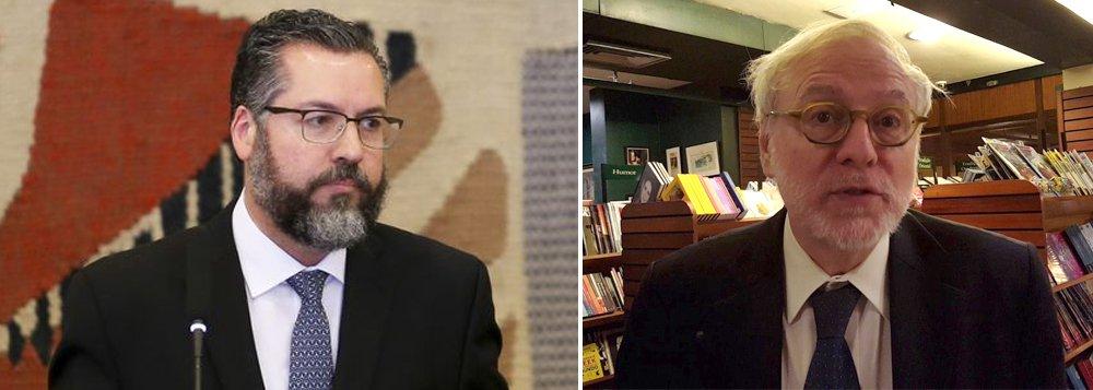 Ernesto Araújo inicia perseguição ideológica no Itamaraty