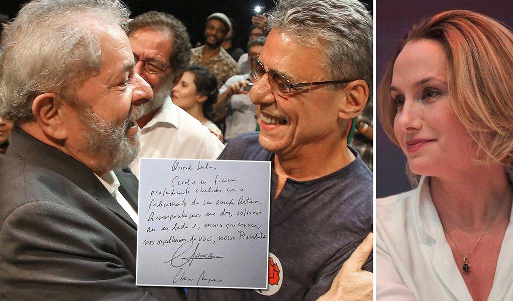 De Chico Buarque e Carol Proner para Lula: mais do que nunca, nos orgulhamos de você