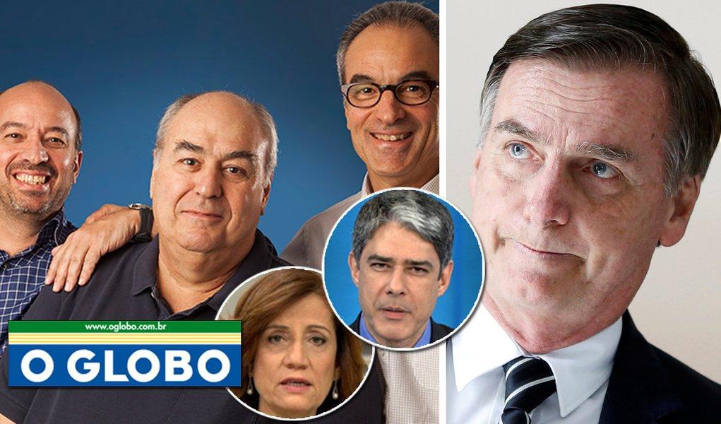 Globo manda Bolsonaro trabalhar e assumir o mandato