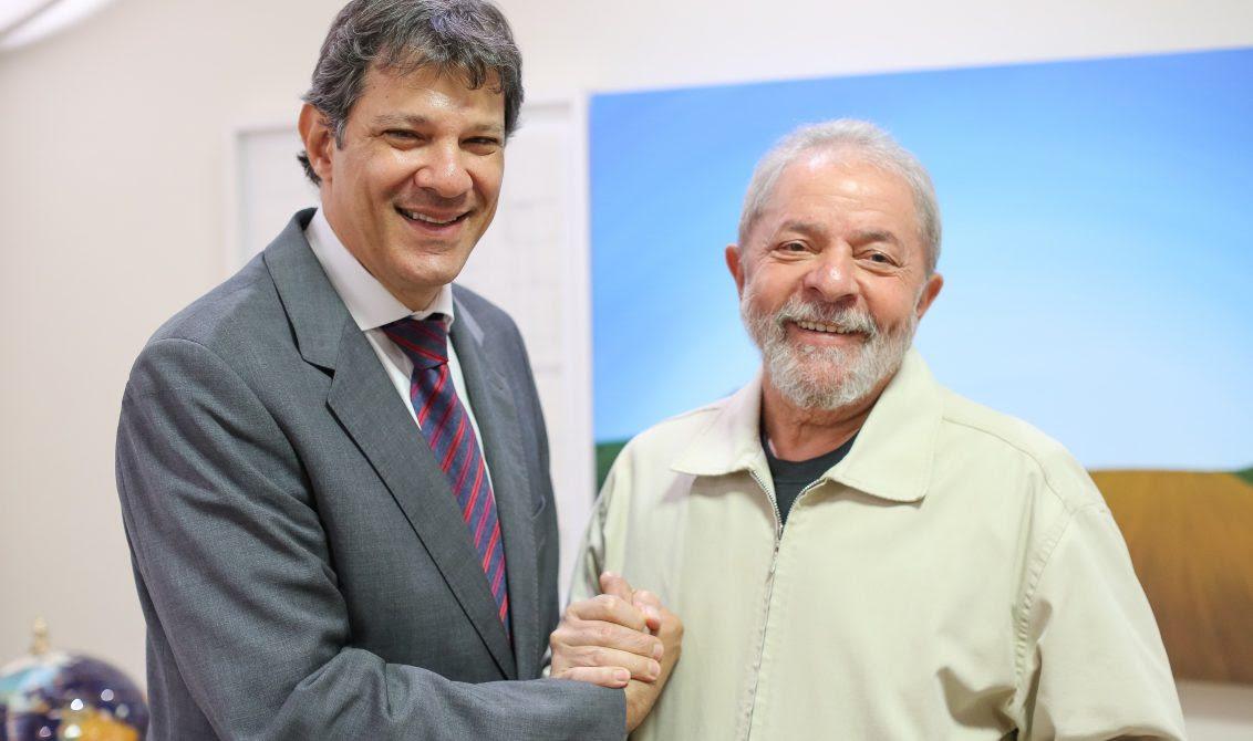 Haddad volta a ser advogado de Lula e poderá visitá-lo