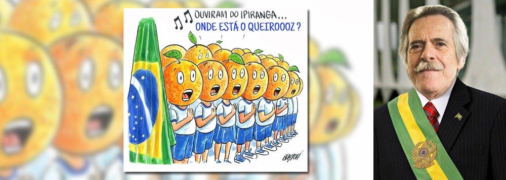 Multidão se une no Twitter para deixar claro que 'presidente laranja nunca mais'