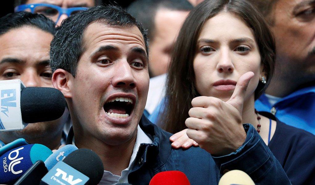 Tijolaço: visita de Guaidó é mancada diplomática