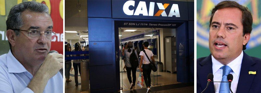 Funcionários da Caixa denunciam manobra para preparar privataria