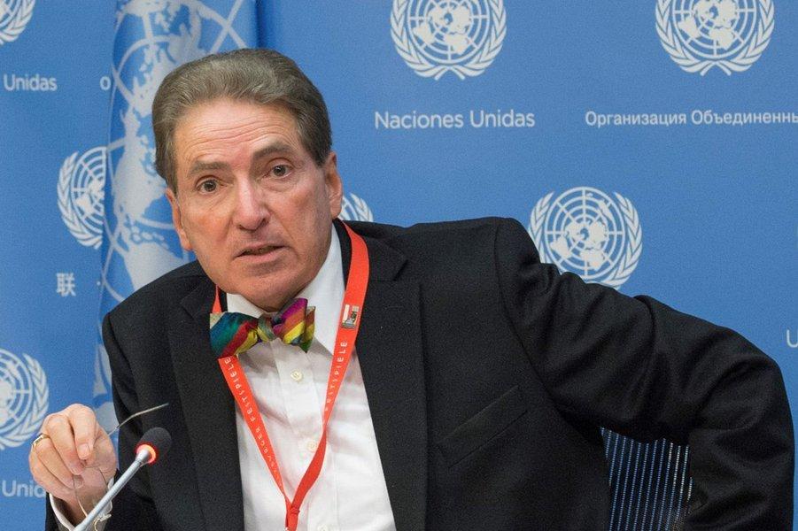 Especialista da ONU diz que não há crise humanitária na Venezuela