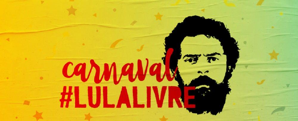 'Carnaval Lula Livre' é disponibilizado para download