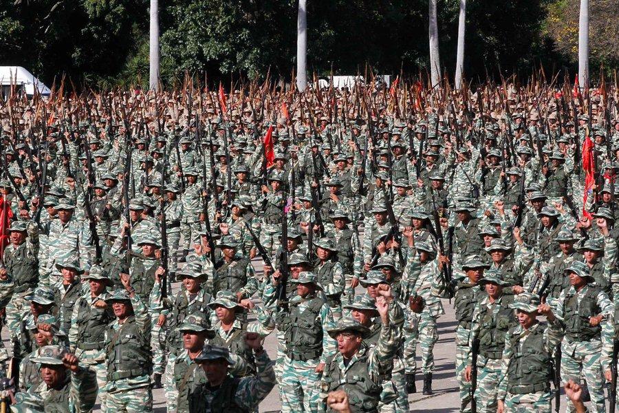 Milícia Nacional criada por lei é parte da união cívico-militar na Venezuela