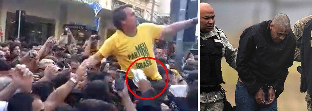 PF diz a Bolsonaro que autor de facada agiu só