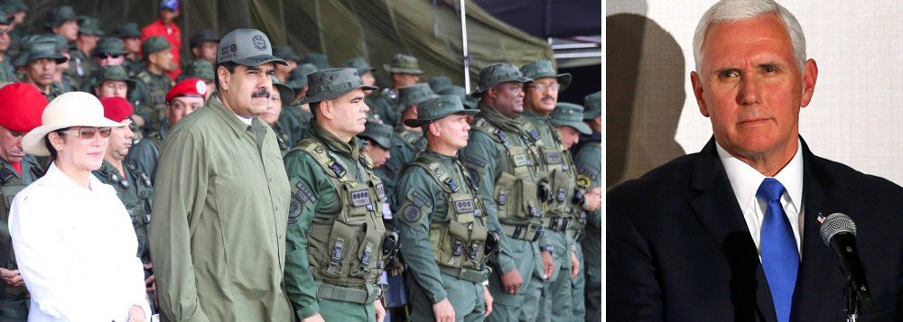 Vice de Trump ameaça Venezuela e América Latina