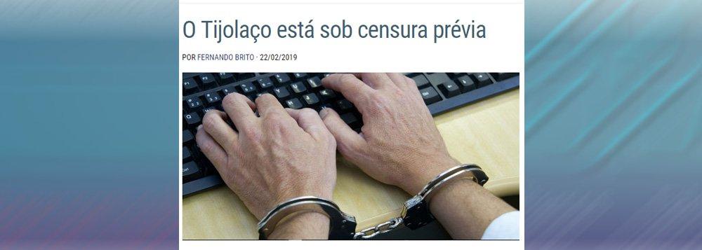 """Juíza censura em """"segredo"""" e imprensa se cala"""