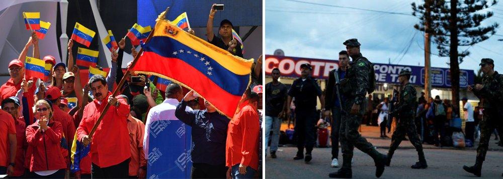 Militares brasileiros negociam com Venezuela para evitar conflitos