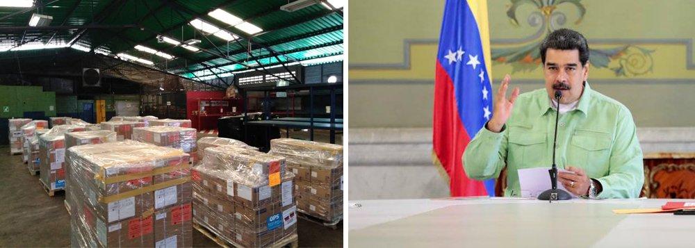 China insta o mundo a dar ajuda 'construtiva' à Venezuela