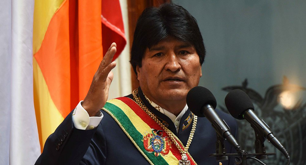 Evo Morales diz que Venezuela defende dignidade da América Latina