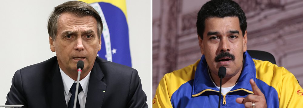 A aventura golpista de Bolsonaro na Venezuela