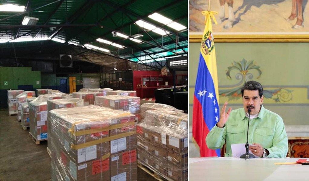 Rússia mostra o que é ajuda humanitária e envia 7,5 toneladas de medicamentos à Venezuela