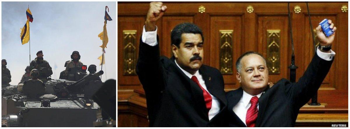'Não vamos nos render', diz líder governista da Venezuela
