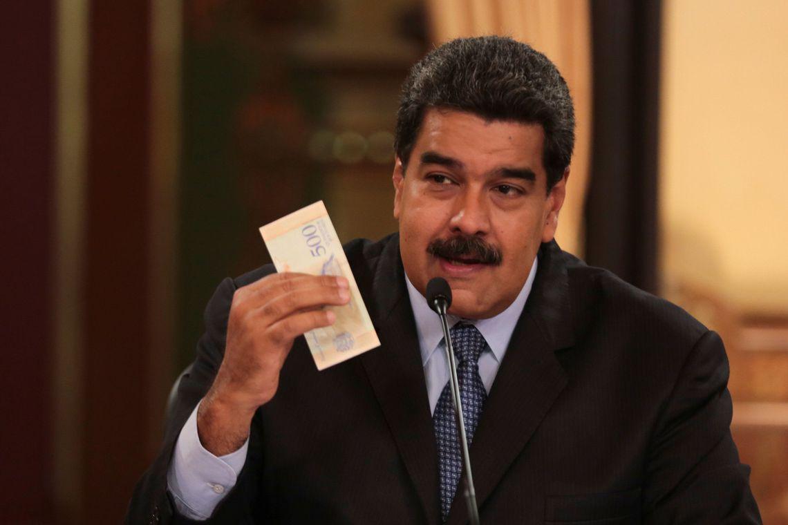 Maduro diz estar disposto a comprar comida do Brasil