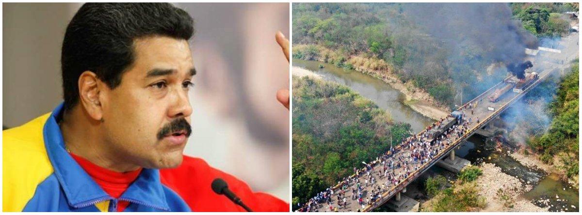 Fracassam tentativas de caminhões invadirem Venezuela