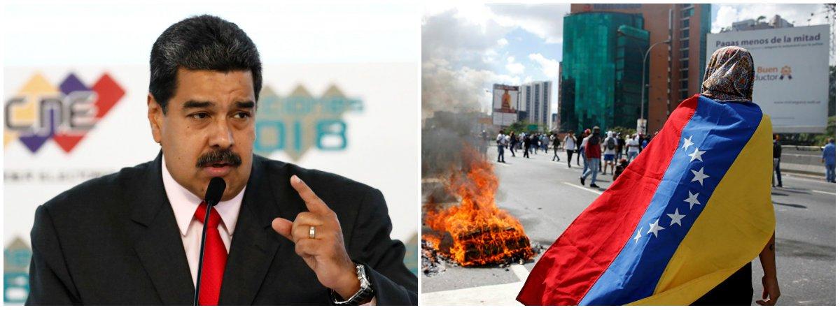 Como os EUA transformaram a Venezuela em um barril de pólvora
