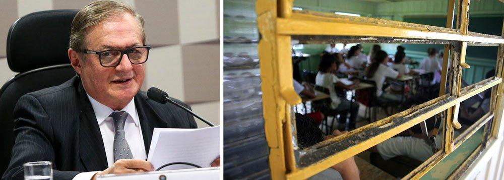 Em resposta a ministro, Ubes pede que estudantes filmem degradação de escolas